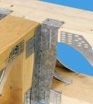 Использование пластин в различных узлах стропильных конструкций