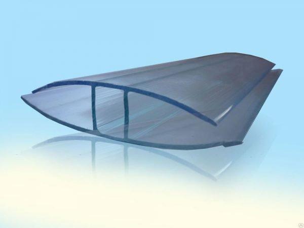 Неразъемный профиль для соединение листов поликарбоната