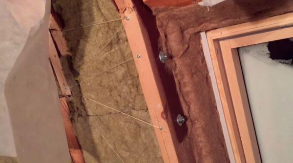 Крепление стропил на мансардной крыше без стоек