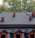 Современная крыша вальмового типа