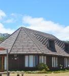 Крыша с высокими скатами