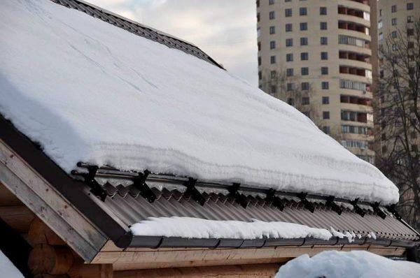 Снегозадержатель