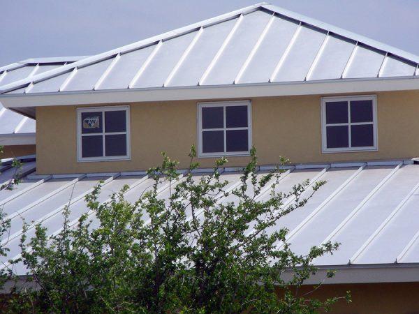 Цинк-титановая фальцевая крыша