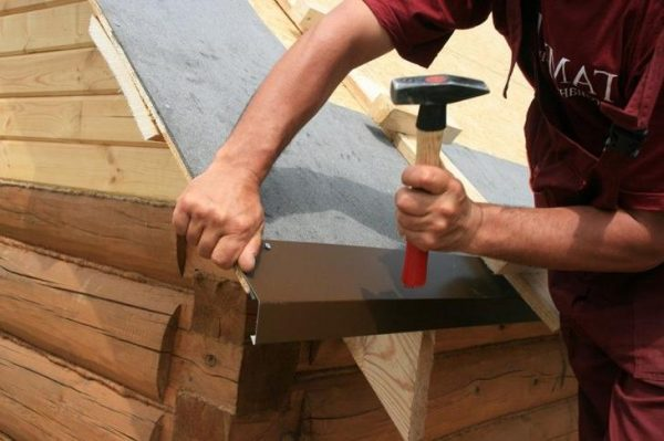 Установка капельника для отвода конденсата