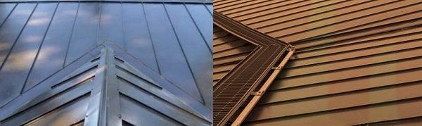Кликфальцевые панели с различными покрытиями