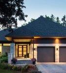 Шатровый вариант крыши