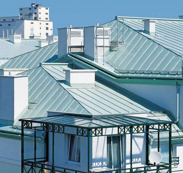 Алюминиевая фальцевая крыша