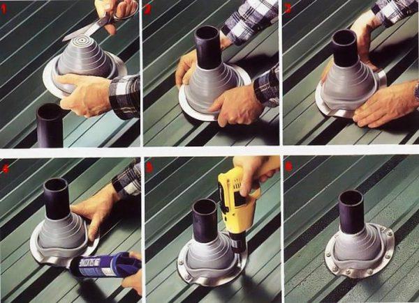 Гидроизоляция трубы