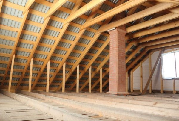 Стропильная система крыши
