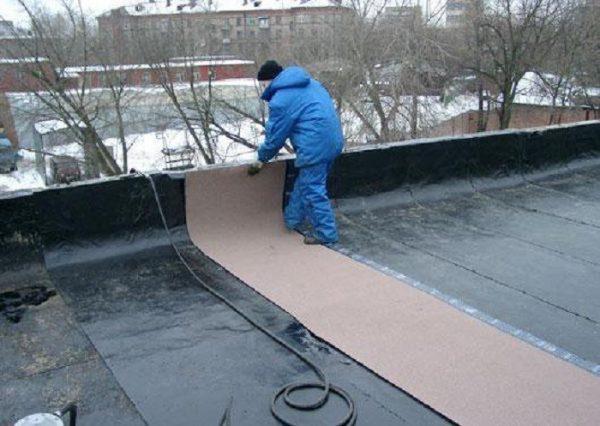 Наружный слой двухслойной крыши