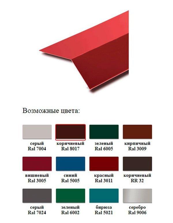 Цветовые варианты капельников