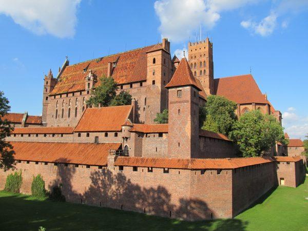 Старинный замок в Мальборке