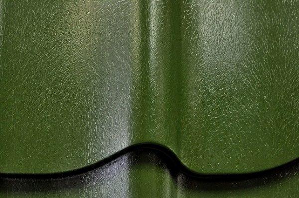 Металлочерепица, покрытая пластизолом