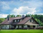 Жилой дом в Литве с мягкой кровлей Шинглас серии Джаз
