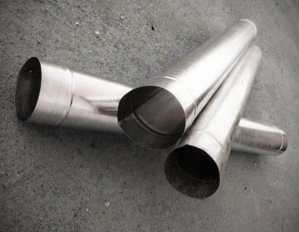 Трубы из жести и стали