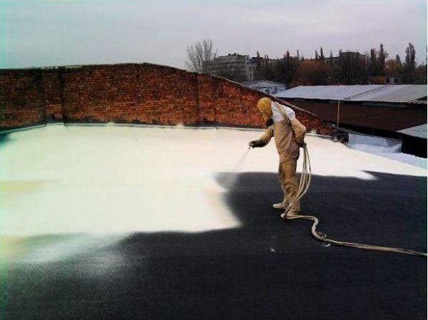 Утепление плоской крыши пенополиуретаном