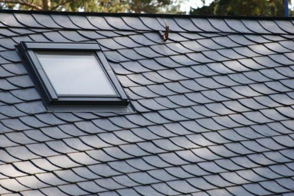 Крыша со сланцевым покрытием