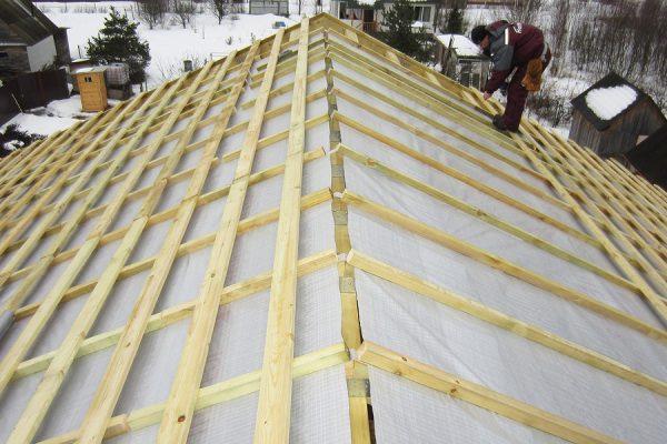 Мембрана на холодную крышу