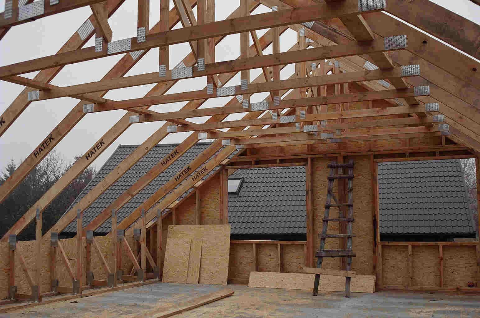Двускатная мансардная крыша своими руками фото 380