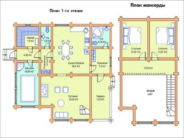 Необычная планировка дома