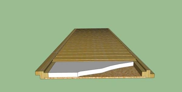 Панель для утепления потолка бани