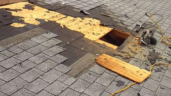 Замена гидроизоляции на крыше бани
