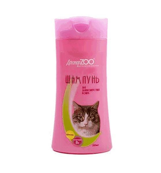 Кошачий шампунь