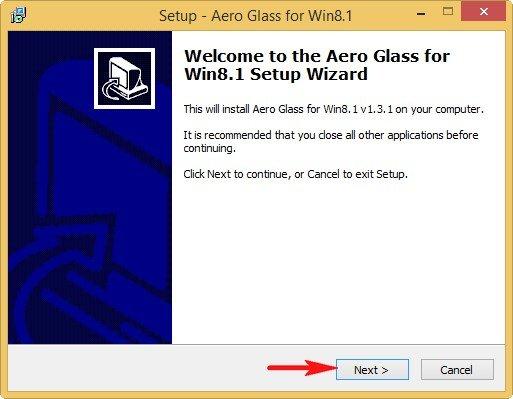 Программа установки Aero Glass