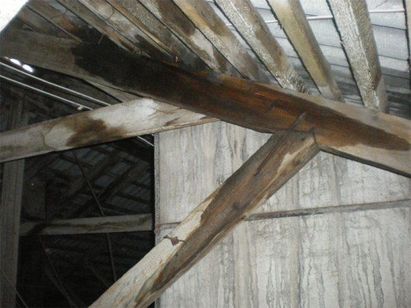 Проверка состояния крыши