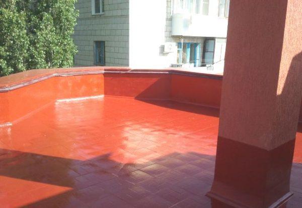 Кровля из полимерно-битумных материалов