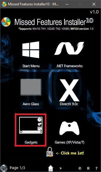 Интерфейс программы MFI10