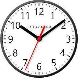 Интерфейс Desktop Clock Plus-7