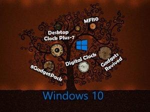 Виджеты «Часы» для Windows 10