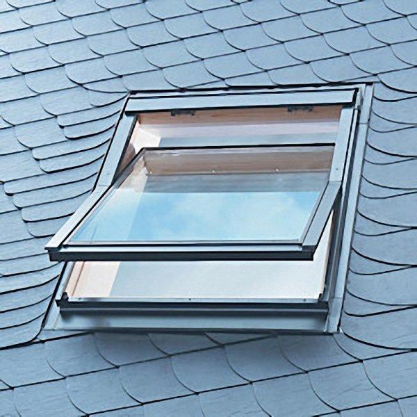 Алюминиевое мансардное окно