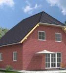 Полувальмовая крыша для дачи