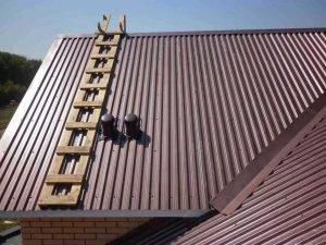 Расчёт профнастила для крыши
