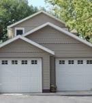 Сложная многоскатная крыша для гаража