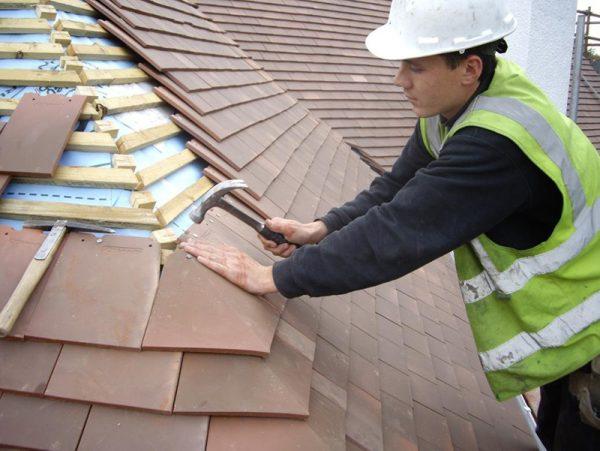 Перекрытие крыши в частном доме