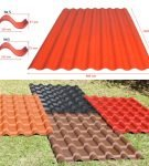 Волнистый керамопласт для крыши