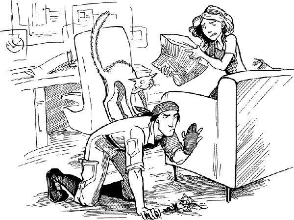Иллюстрация к книге «Космоэколухи»