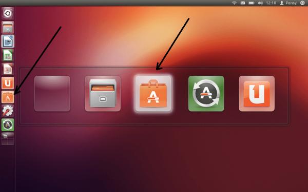 Рабочий стол в Ubuntu Linux