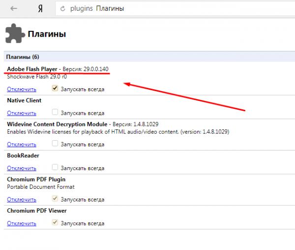 Плагины «Яндекс.Браузера»