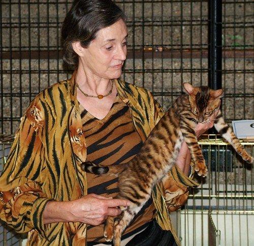 Джуди Сагден с тойгером
