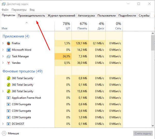 Мониторинг и управление быстродействием ПК в Windows 8/10