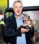 Роберт Де Ниро с котом