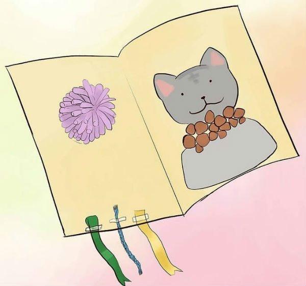 Открытка для кошки