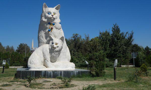 Памятник турецким ванам