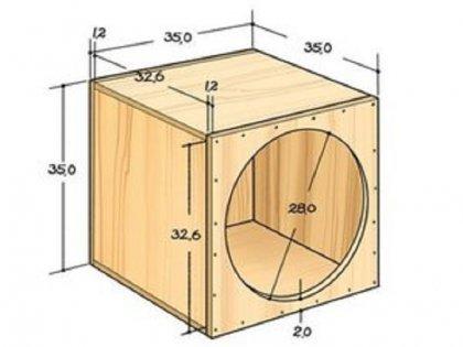 Схема домика из фанеры