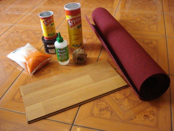 Материалы для когтеточки-столбика