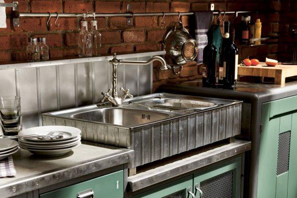 Мойка для кухни в стиле лофт